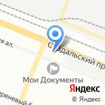 Кенигсберг на карте Санкт-Петербурга