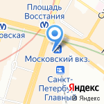 АН на карте Санкт-Петербурга