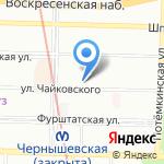 Brandson на карте Санкт-Петербурга