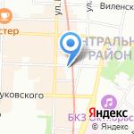 Розовая Дача на карте Санкт-Петербурга