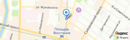 Мир Скидок на карте Санкт-Петербурга