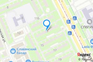 Снять однокомнатную квартиру в Санкт-Петербурге м. Бухарестская, Бухарестская улица, 13
