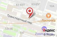 Схема проезда до компании Витязь в отде.№1 Масловском совхоз