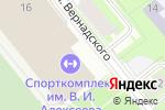 Схема проезда до компании Мужество в Санкт-Петербурге