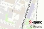Схема проезда до компании Вест Принт в Санкт-Петербурге