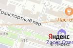 Схема проезда до компании Пари в Санкт-Петербурге