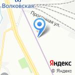 Пункт приема лома черных и цветных металлов на карте Санкт-Петербурга