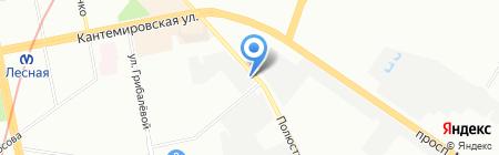 Автозапчастник.рф на карте Санкт-Петербурга
