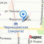 Евросервис на карте Санкт-Петербурга