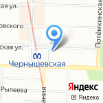 Горизонт на карте Санкт-Петербурга