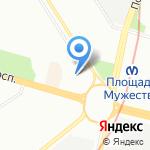 Вида на карте Санкт-Петербурга