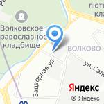 Доминанта на карте Санкт-Петербурга