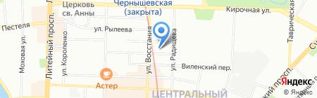 Некст-тур на карте Санкт-Петербурга