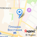 Онлайнтур на карте Санкт-Петербурга