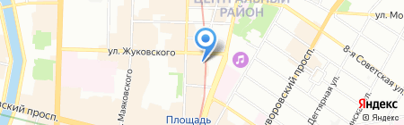 Невский банк на карте Санкт-Петербурга