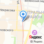 Центр торговли и сервиса Выборг на карте Санкт-Петербурга