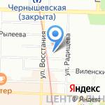 Альфа и омега на карте Санкт-Петербурга