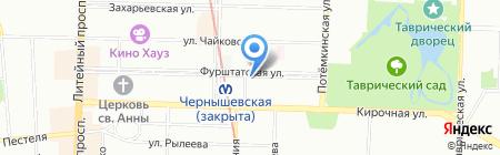 Ваше Решение на карте Санкт-Петербурга