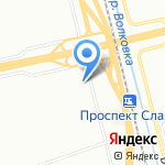 Леонардо на карте Санкт-Петербурга
