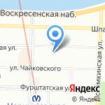 РУСЛИЗИНГГРУПП на карте Санкт-Петербурга