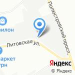 ТРАНСПОРТНАЯ КОМПАНИЯ БАРС на карте Санкт-Петербурга