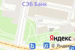 Схема проезда до компании Общественный совет по малому предпринимательству в Санкт-Петербурге