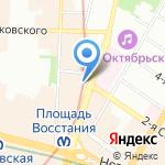 Этламо на карте Санкт-Петербурга