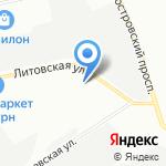 Стальконструкция на карте Санкт-Петербурга