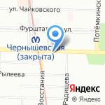 EVENTAЖ на карте Санкт-Петербурга