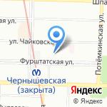 Юкки на карте Санкт-Петербурга