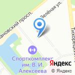 Средняя общеобразовательная школа №517 с углубленным изучением предметов экономического профиля на карте Санкт-Петербурга