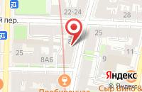 Схема проезда до компании ЛИДЕРТЕКС в Иваново