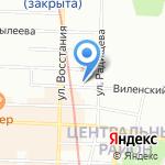 Декорум Элит на карте Санкт-Петербурга
