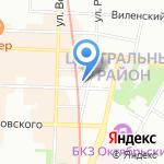 Кости на карте Санкт-Петербурга