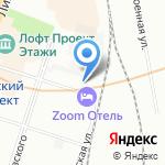 Другой Хостел на карте Санкт-Петербурга