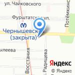 Эстафета на карте Санкт-Петербурга