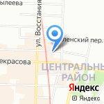 Strogo на карте Санкт-Петербурга