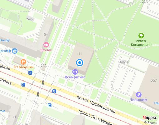 Управляющая компания «Норд-Капитал» на карте Санкт-Петербурга