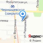 Генеральное консульство Литовской Республики на карте Санкт-Петербурга