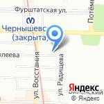 Гранит-С на карте Санкт-Петербурга