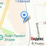 Оптовая Чайная Компания №1 на карте Санкт-Петербурга