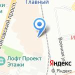 АвэксПост на карте Санкт-Петербурга