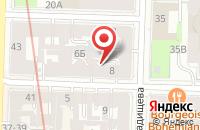 Схема проезда до компании Статус в Санкт-Петербурге