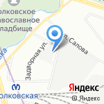 Иванов на карте Санкт-Петербурга