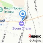 Экос на карте Санкт-Петербурга