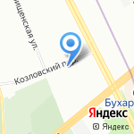 Авто Нева на карте Санкт-Петербурга