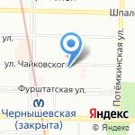 Нева Интер Клин Сервис на карте Санкт-Петербурга