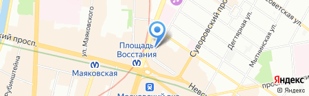 ГУД ТУРС на карте Санкт-Петербурга