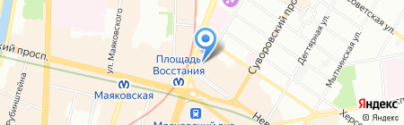 Cooks-looks на карте Санкт-Петербурга