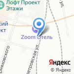 Центральный государственный архив документов по личному составу ликвидированных предприятий на карте Санкт-Петербурга
